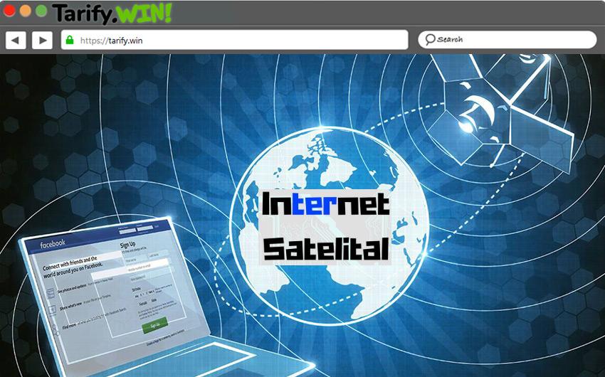 ¿Cómo funciona una conexión a Internet mediante satélites y cuáles son sus componentes?