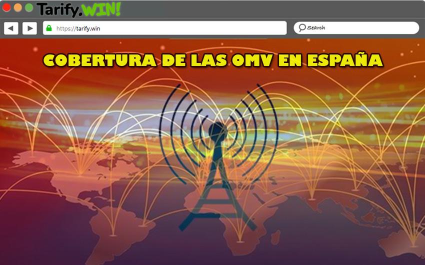 """¿Cuál es la cobertura de las OMV en España? ¿Es peor que la de los operadores """"tradicionales""""?"""