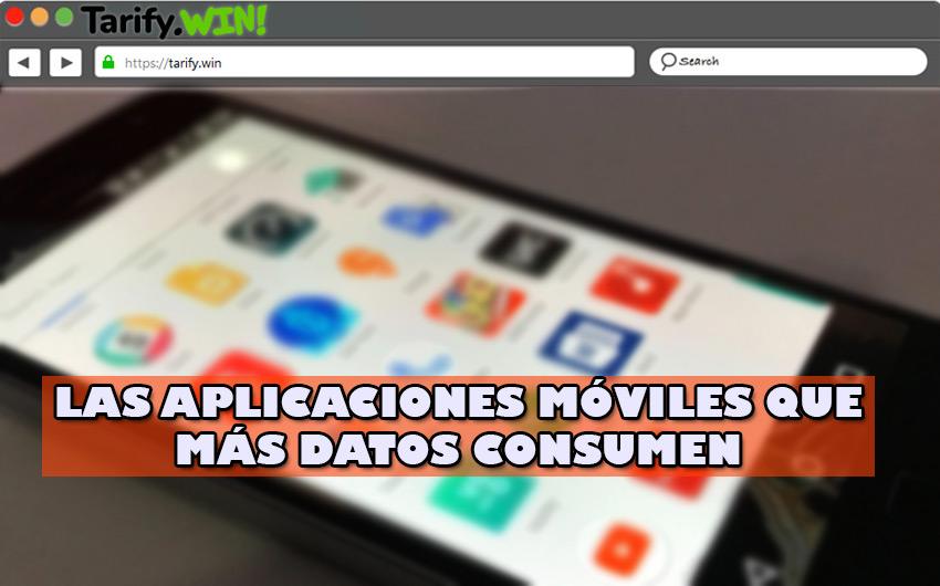 ¿Cuáles son las aplicaciones y herramientas móviles que más datos consumen?