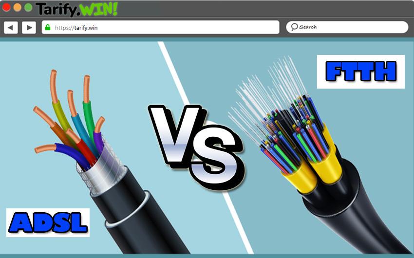 ¿Cuáles son las principales diferencias entre hacer una instalación del ADSL y de FTTH en casa?