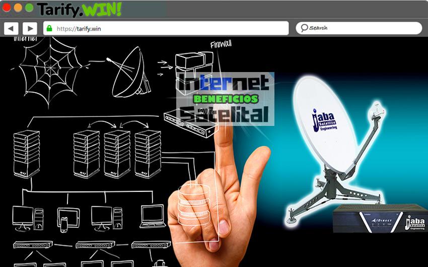 ¿Cuáles son los beneficios de contratar un servicio de Internet satelital?
