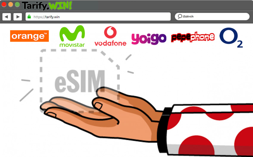 ¿Cuáles son los operadores móviles en España compatibles con tarjetas eSIM embebida actualmente?