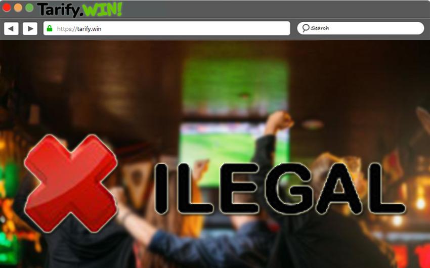 ¿Es legal transmitir fútbol en bares desde plataformas online?