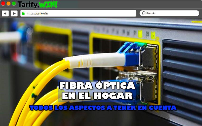 ¿Qué tener en cuenta antes de solicitar la instalación de la fibra óptica en el hogar?