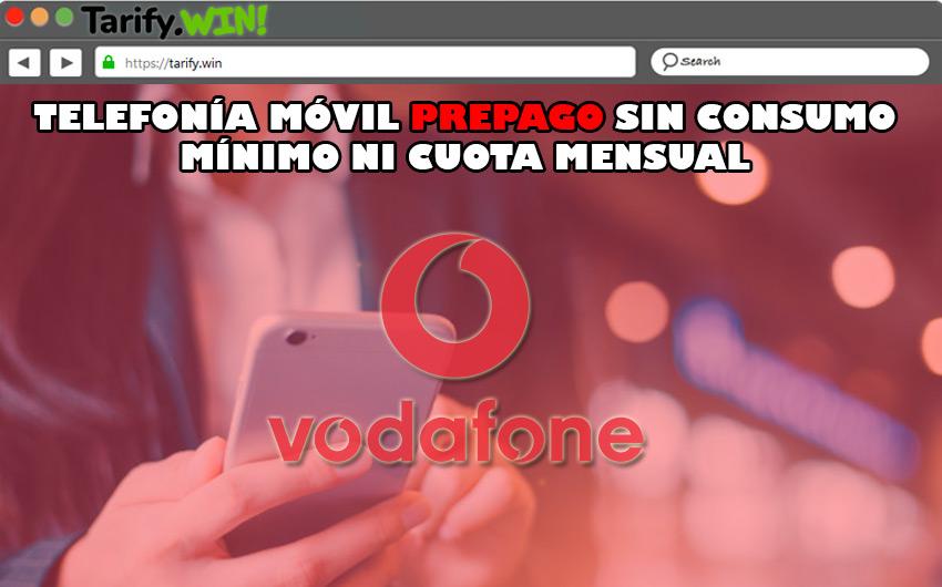"""""""Fácil Prepago"""" de Vodafone"""