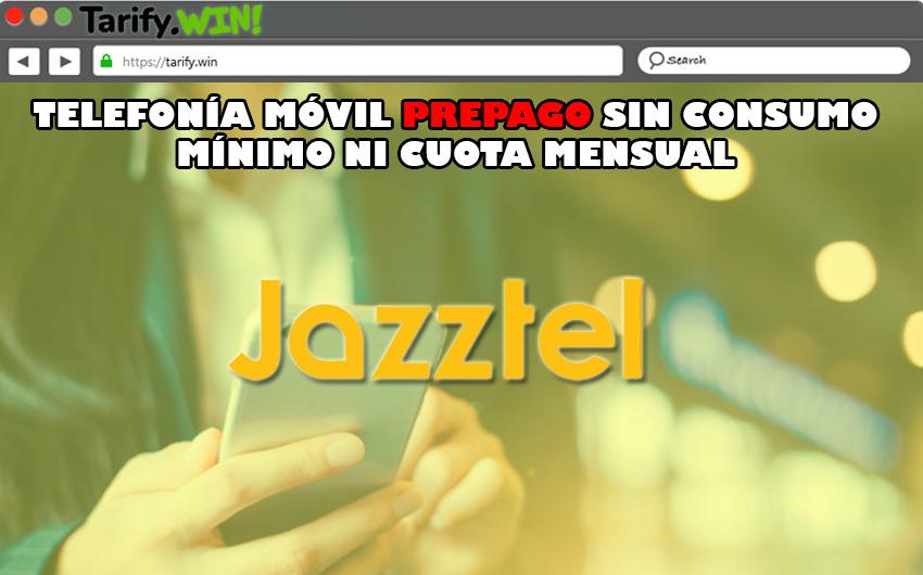 """Jazzcard móvil"" de Jazztel"