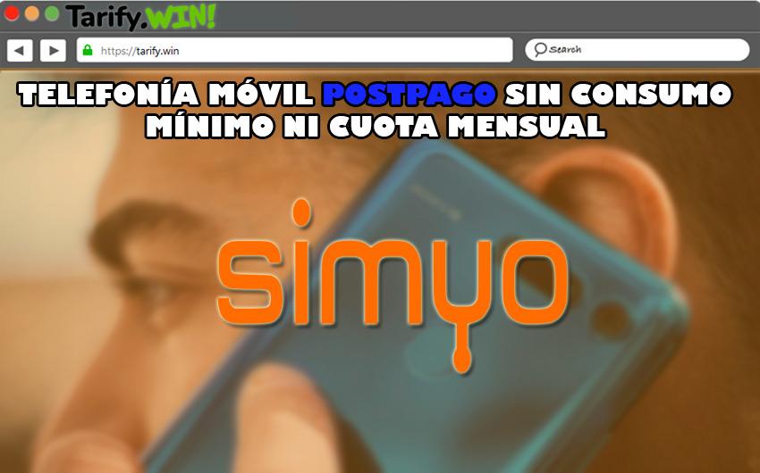 """""""Sin cuotas"""" de Simyo"""