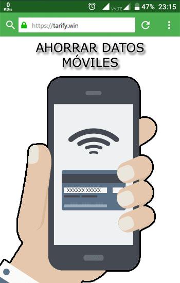 Consejos para ahorrar en tu consumo de datos móviles y gastar menos cada mes