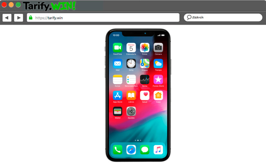 En iPhone