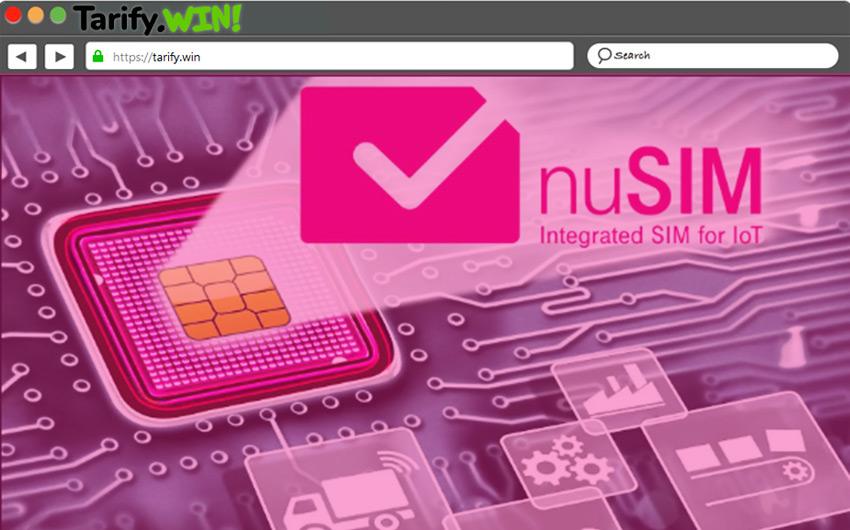 La nuSIM también permitirá eliminar el soporte para SIM físico