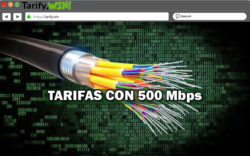 Las mejores tarifas en fibra óptica en casa con 500 Mb que puedes contratar para navegar a la máxima velocidad
