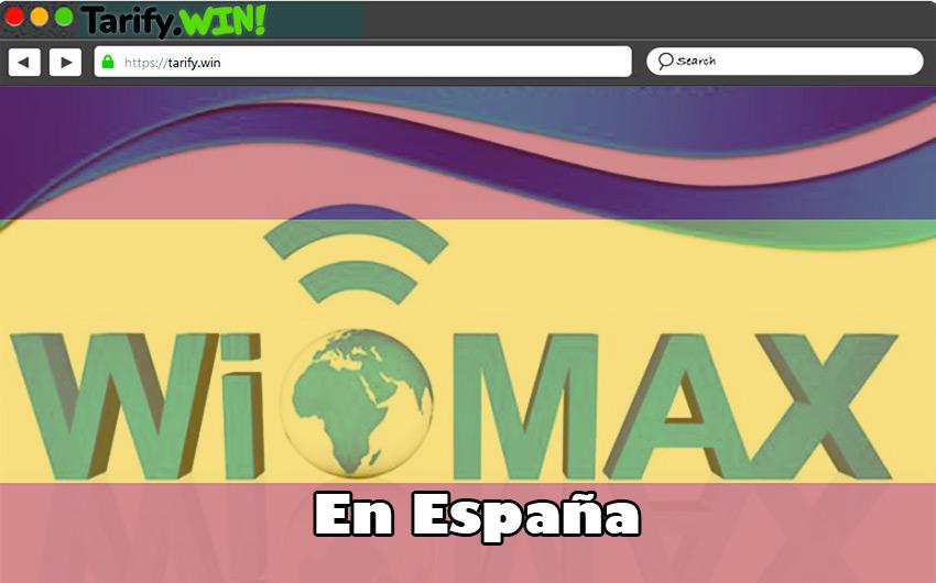 Lista de las mejores compañías para contratar WiMAX en España y sus tarifas