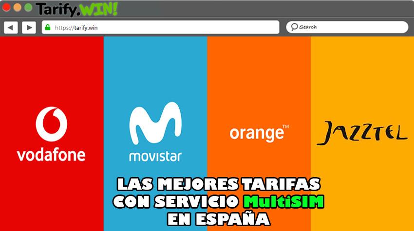 Lista de las mejores tarifas con servicio MultiSIM en España