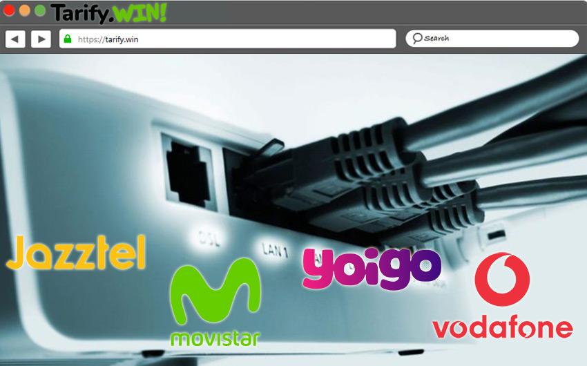 Lista de las mejores tarifas en ADSL en los principales operadores españoles