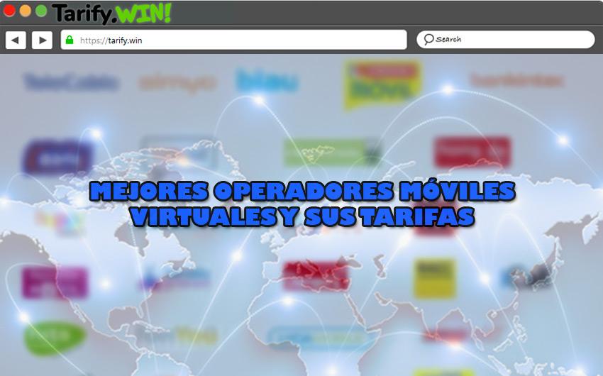 Lista de los mejores operadores móviles virtuales y sus tarifas en fijo, móvil, ADSL, Fibra y TV