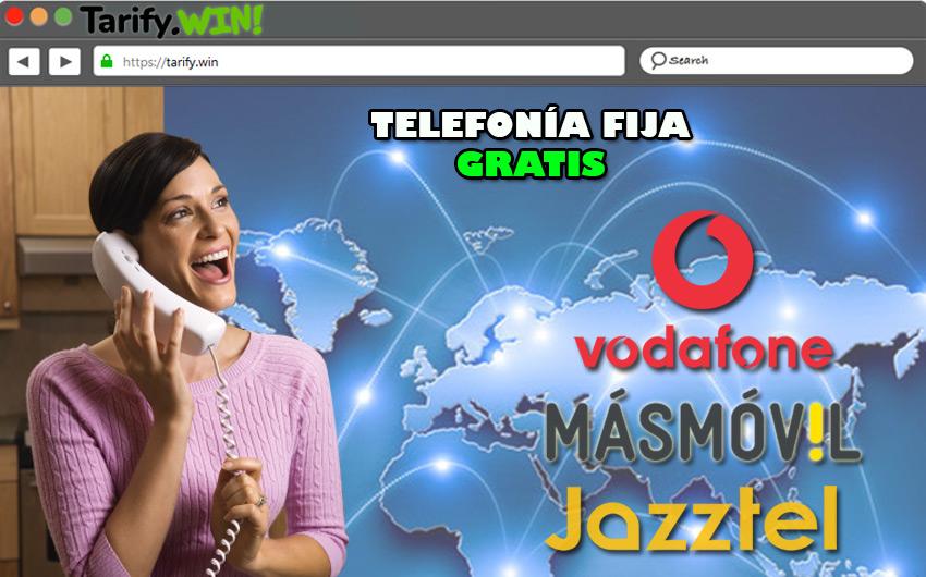Lista de los mejores operadores para obtener servicios extras de telefonía fija gratis