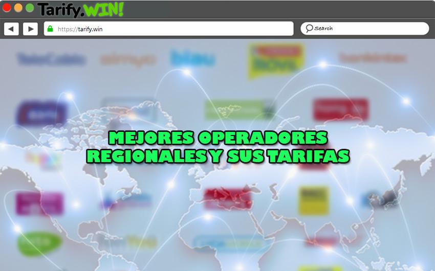 Lista de los mejores operadores regionales y sus tarifas en fijo, móvil, ADSL, Fibra y TV
