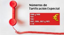 Números de tarificación especial de España ¿Qué son, para qué sirven y cuáles existen en nuestro país?