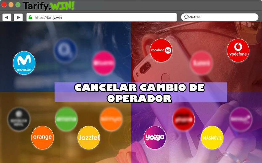 Pasos para cancelar un cambio de operador en los principales proveedores de líneas móviles