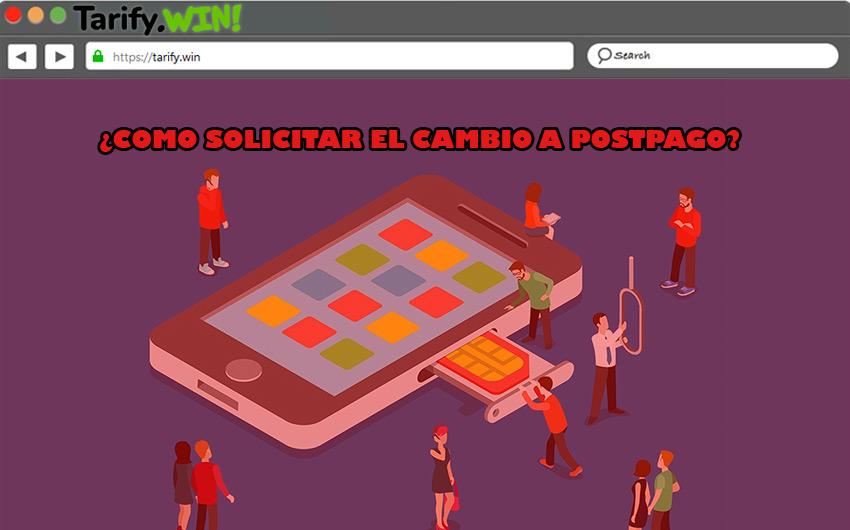 Pasos para solicitar el cambio de línea prepago a postpago en los principales operadores