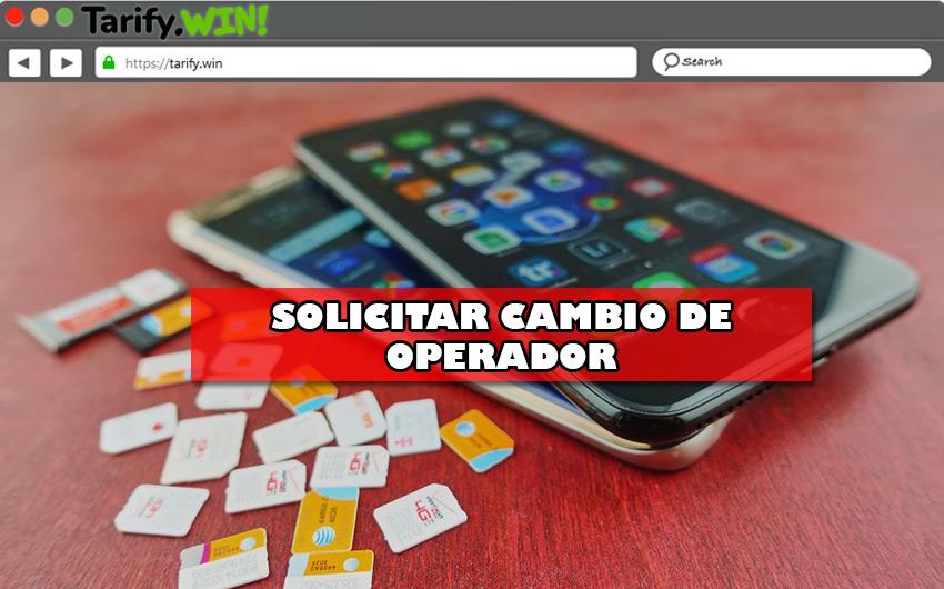 Pasos para solicitar una portabilidad en los principales operadores de telefonía móvil