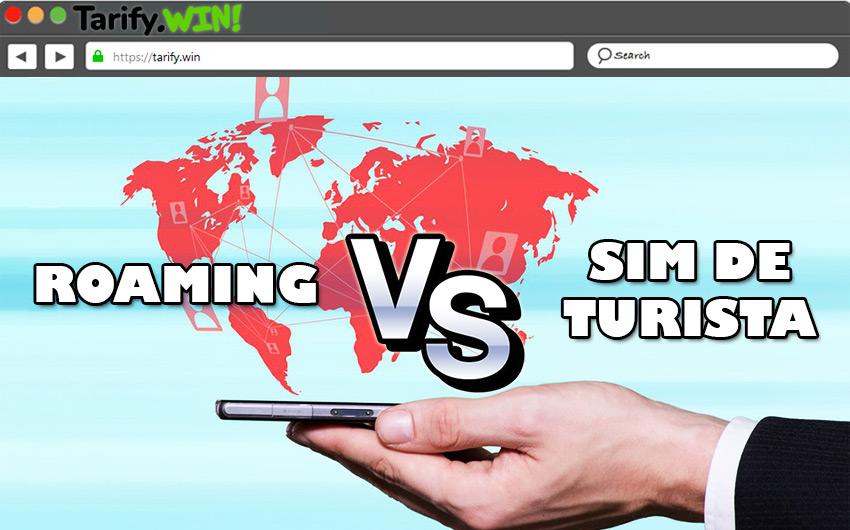 Roaming vs SIM de turista ¿Qué es más rentable para llamar mientras viajas el mundo?