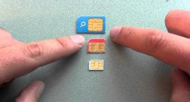 SIM, Micro SIM y Nano SIM ¿Qué son y en qué se diferencian estas tarjetas para teléfonos móviles?