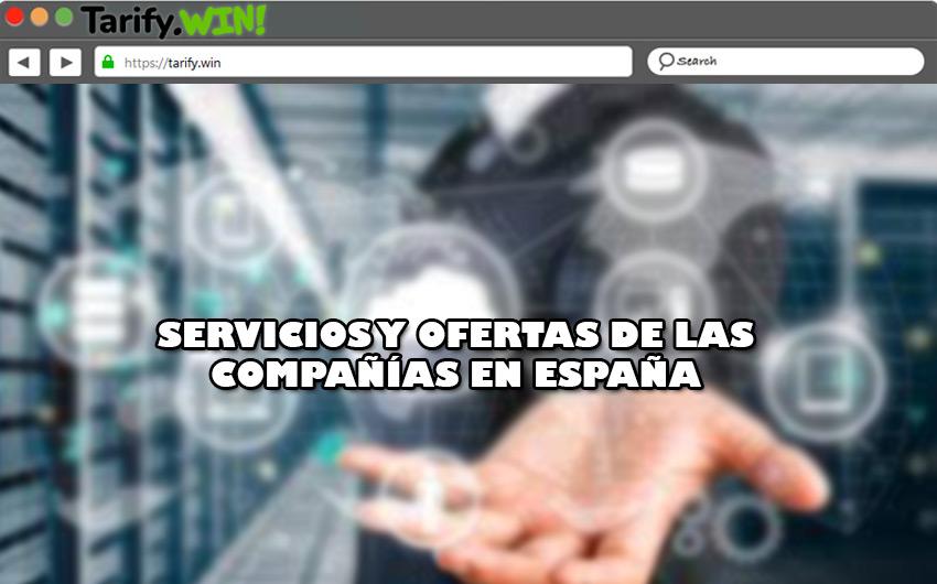Servicios y ofertas que ofrecen las compañías telefónicas en España