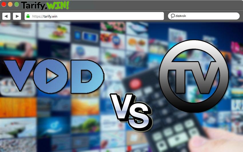 VOD vs TV tradicional ¿Cuál es mejor y en qué se diferencian?
