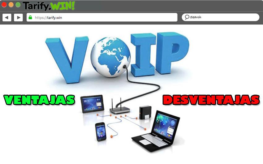 Ventajas y desventajas de la telefonía por Internet