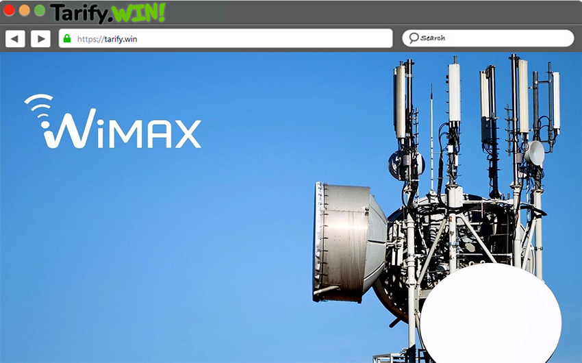 conexion a internet wimax
